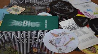 Hareketli lenticular etiketler, dikilebilir hareketli etiketler, 3d etiket, dikilebilir 3d etiket, yumuşak lenticular etiket