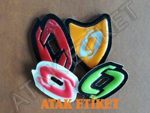 PVC etiket, ayakkabı etiketi, plastik etiket, kauçuk etiket, silikon etiket, mont etiketi