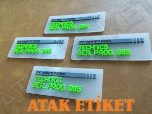 silikon etiket, kauçuk etiket, plastik etiket, pvc etiket